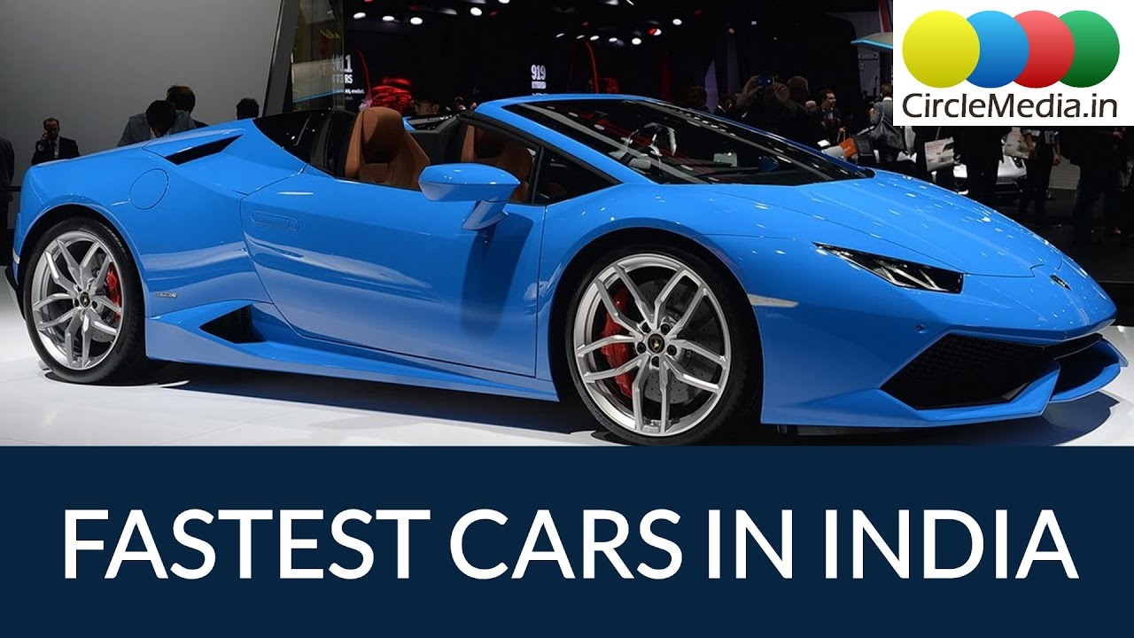 Top Fastest Cars In India List Of Sports Cars And Their Top - List of sports cars