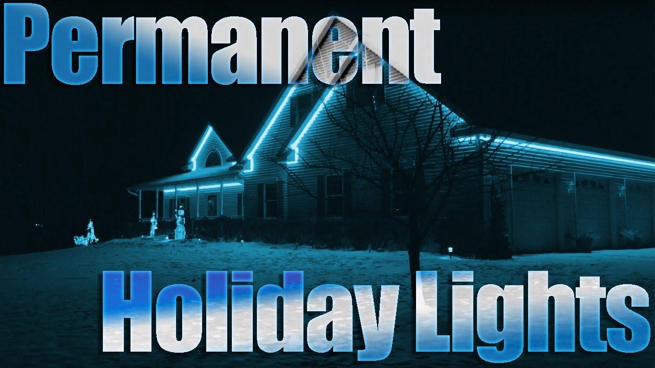 Permanent Christmas Lights Rgb Led Strip Diy Christmas Decorations Permanent Holiday Lights