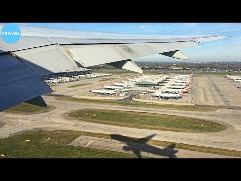 British Airways 777-200ER Beautiful Takeoff from London Heathrow Airport!