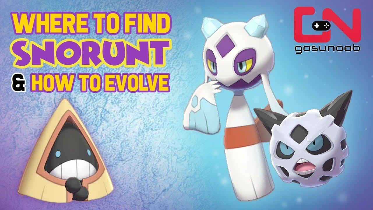 Download Where to find Snorunt & How to Evolve Into Froslass/ Glalie - Pokemon Sword and Shield