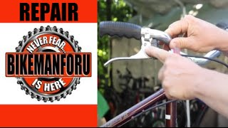 Brakes - Self-Adjusting - Raleigh Sprite - Vintage Tech - BikemanforU