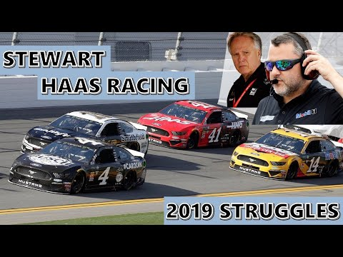 The 2019 Struggles of Stewart Haas Racing: An Aero-Sensitive Mystery