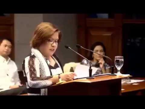 WATCH! De Lima Inamin na Protector Umano Siya ng Drug Trade sa Bansa!