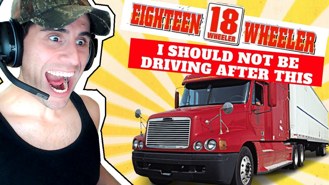 18 Wheeler Simulator - This Is What Professionals Do  😀