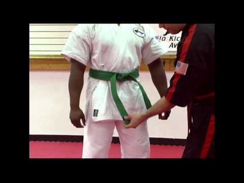 Belt tying 101 with Sensei Rob