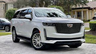 Купили НОВЫЙ Cadillac Escalade! Первыми!