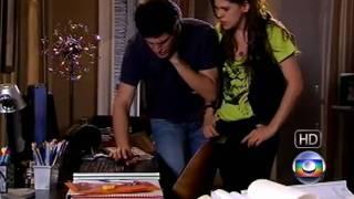 Viver a Vida - Miguel olha fotos de Luciana e Jorge o expulsa do Quarto 17/10/2009 - Rede Globo (HD)