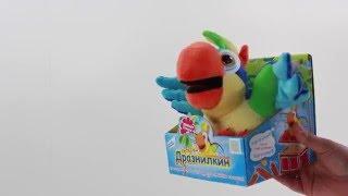 Игрушка-повторяшка Попугай Дразнилкин Обзор
