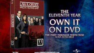 Law & Order: Criminal Intent Series Trailer - Season 5 on DVD
