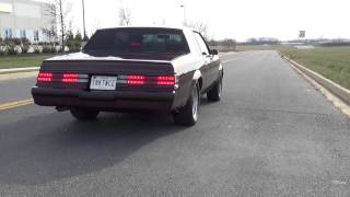 1987 Buick Regal Turbo T 4.5 Soft launch 0-60