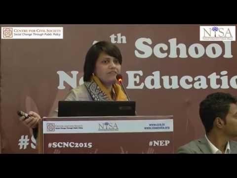 SCNC 2015 | Session 3 | Ensuring School Autonomy | Vyjayanthi Sankar