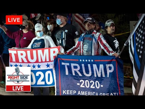 ? RSBN LIVE: President Trump Supporters Outside of Walter Reed Medical Center