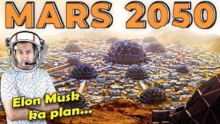 ELON MUSK का MARS पर बस्ती बसाने का GENIUS PLAN Elon Musk's Plan to Colonize Mars