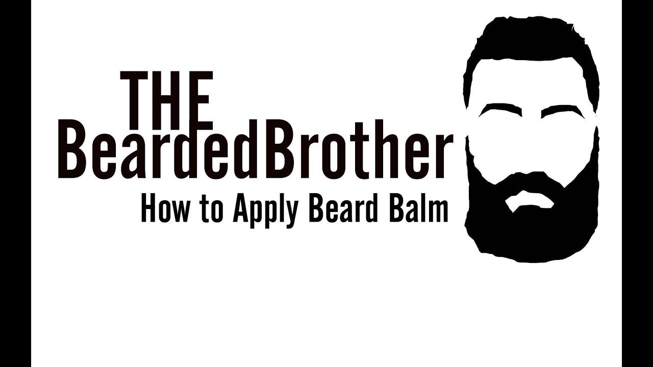 How to Apply Beard Balm - YouTube