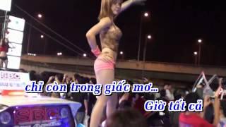 [Karaoke] Anh Không Níu Kéo 3 Remix - Lâm Chấn Huy