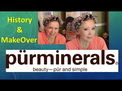 PUR MINERALS  DOCUTORIAL History & MakeOver