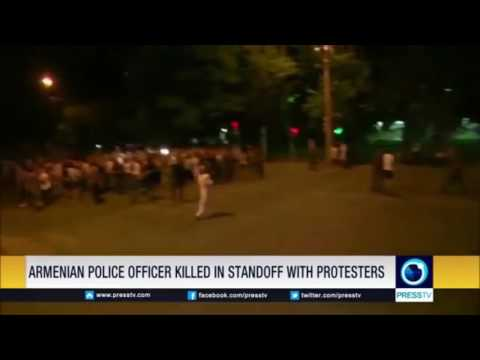 Breaking news. Protests in Armenian capital Yerevan, yaks in attendance...