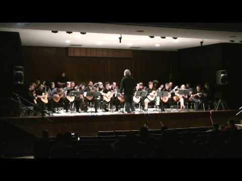 Iron Maiden Suite, performed by the Arkansas State Guitar Orchestra