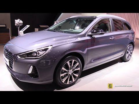 2017 Hyundai i30 Wagon Exterior and Interior Walkaround 2017 Geneva Motor Show