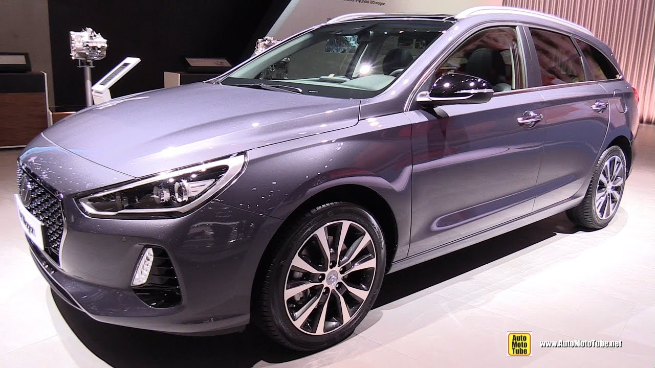 2017 hyundai i30 wagon exterior and interior walkaround. Black Bedroom Furniture Sets. Home Design Ideas