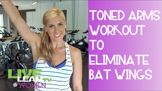 Toned Arms Workout for Women to Eliminate Bat Wings