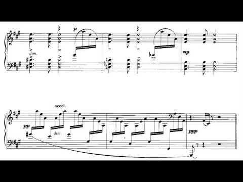 Benjamin Britten - Twelve Variations on a Theme for Piano (1931) [Score-Video]