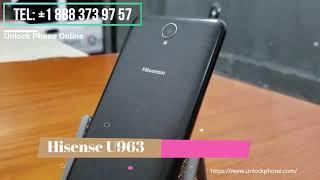 Cómo desbloquear Hisense U963
