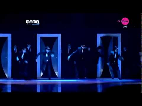 Super Junior  Super Man, Mr Simple and Sorry sorry  MAMA Awards 2011