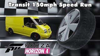 Ford Transit 150mph Speed Run Forza Horizon 4