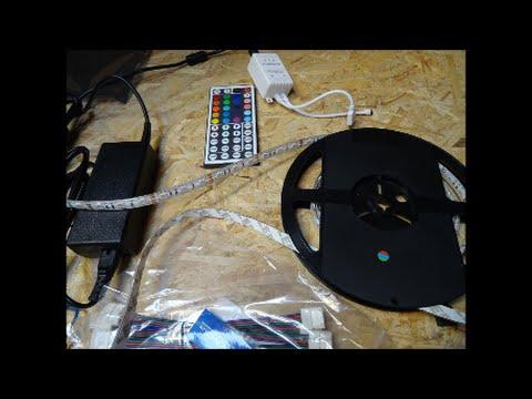 led streifen led band einfach sicher befestigen youtube. Black Bedroom Furniture Sets. Home Design Ideas