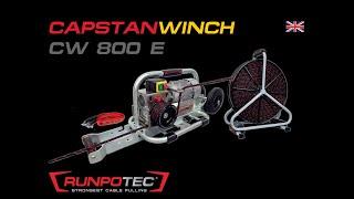 Capstan winch CW 800 E