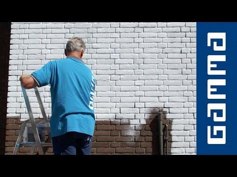 gamma - buitenmuur schilderen - youtube