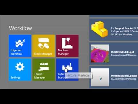 Workflow Launcher Запускающий экран