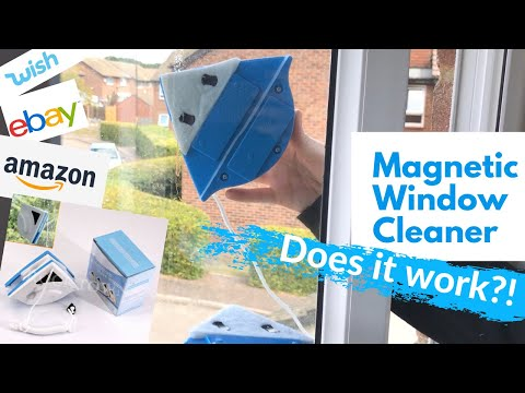 Magnetic Window Cleaner 2021   Unboxing, How to use & Review