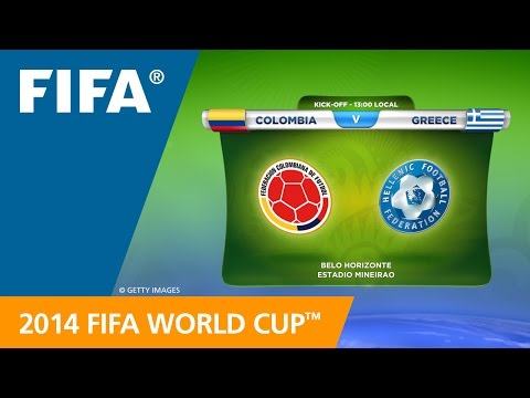 Colombia v. Greece - Teams Announcement
