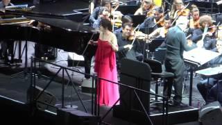 Ennio Morricone-Arenes de Nimes 11.07.2015...Ovation pour le maestro et Susanna Rigacci