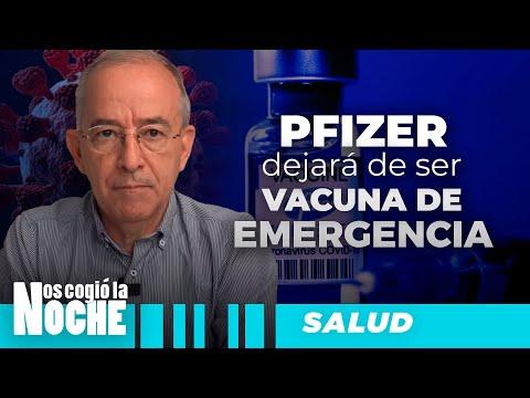 PFIZER Dejará De Ser VACUNA Emergencia, Oswaldo Restrepo - Nos Cogió La Noche