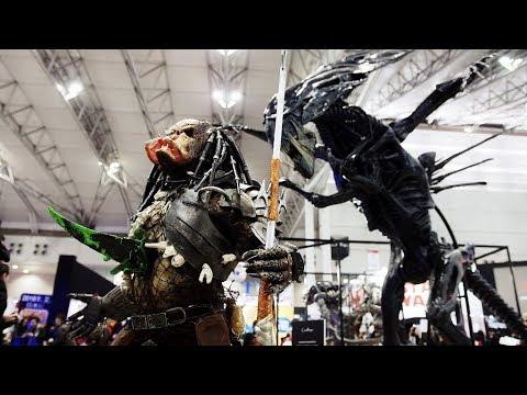 PREDATOR in Tokyo Comic Con 2017 / プレデター 東京コミコン来襲