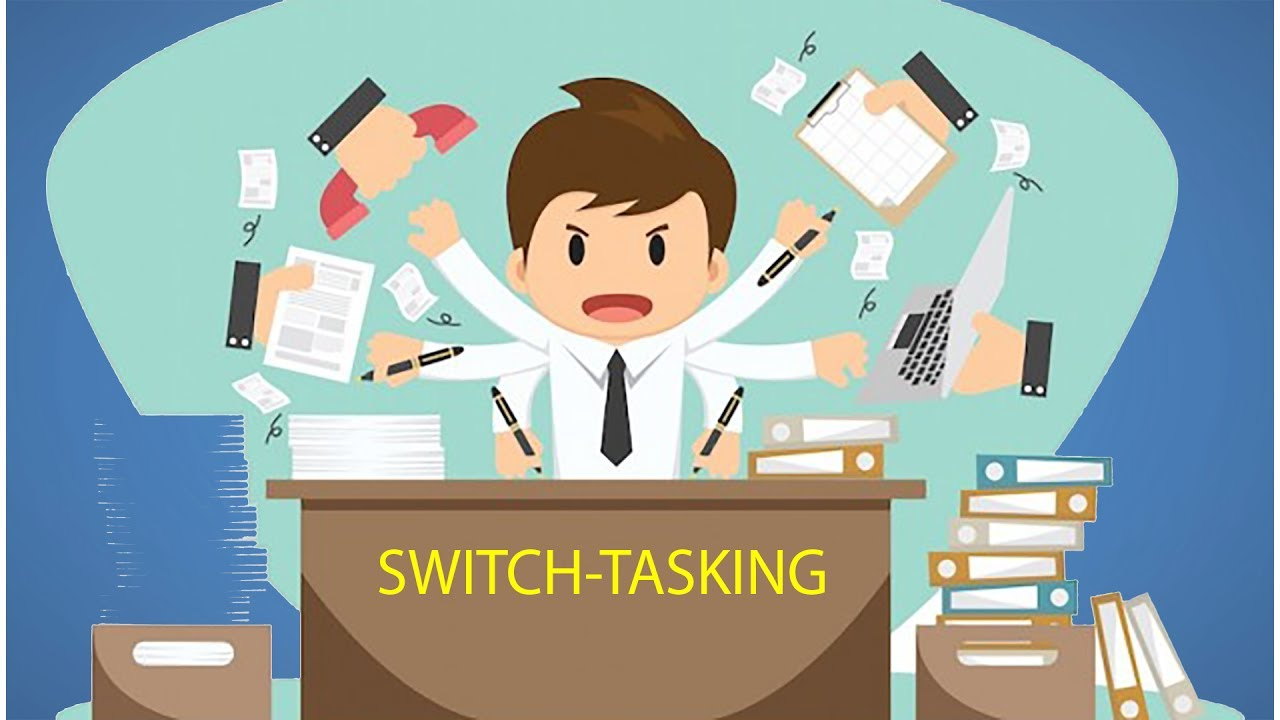 task switching Multitasking and task switching in today's information-rich society, people  frequently attempt to perform many tasks at once this often requires them to  juggle.