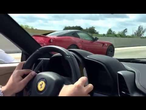 Ferrari Club Of America Drive Day in Florida Palm Beach