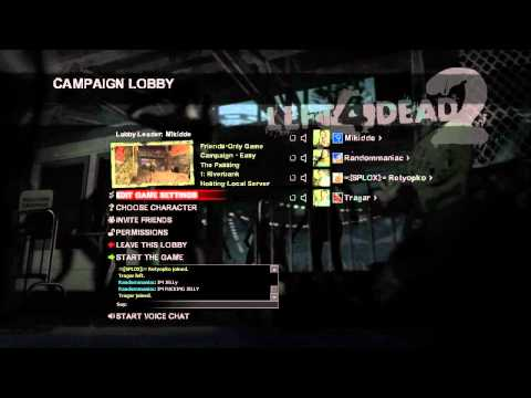Let's Play Left 4 Dead 2 - The Passing - Outtakes