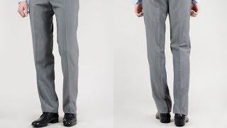 видео Как правильно заузить классические женские брюки к низу
