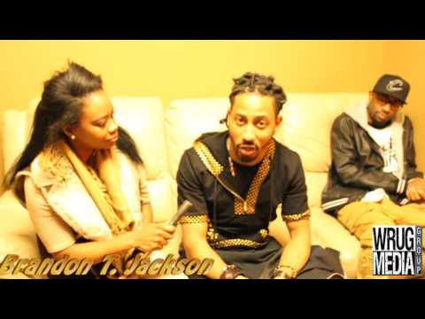 Brandon T  Jackson on Giving Back, Fake HollyWood and Kingdom over Everything