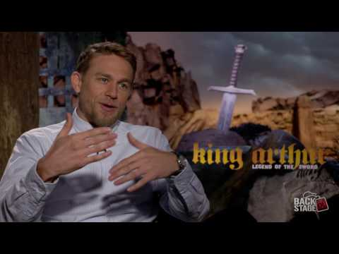 3 Things Charlie Hunnam Would Take To A Sword Fight | KING ARTHUR: LEGEND OF THE SWORD Interview