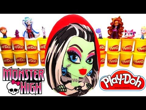 Monster High Frankie Stein Sürpriz Yumurta Oyun Hamuru - Cicibiciler MLP LPS