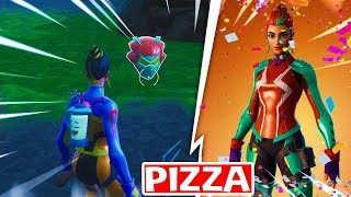 PIZZA SKIN CHARACTER CHARACTER [Hidden Helmet Location]