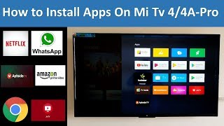 How to Install Android Apps on Mi Tv 4/4A Pro