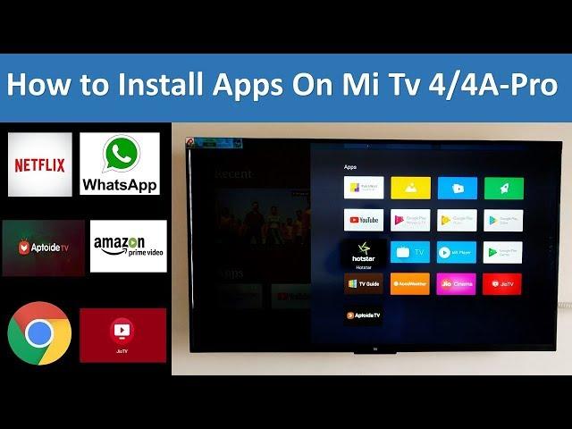 mi tv 4a apps