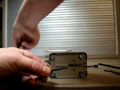 Взлом отмычками MAUER 71111  Вскрытие замка MAUER 71111 , наборный ключ