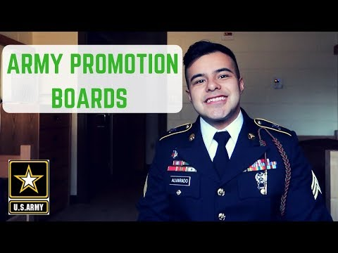 How To Pass/Study For The Army Promotion Board | Joining The Army (2020)